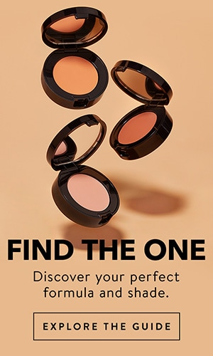 Discover your perfect formula and shade, Click here to find the One