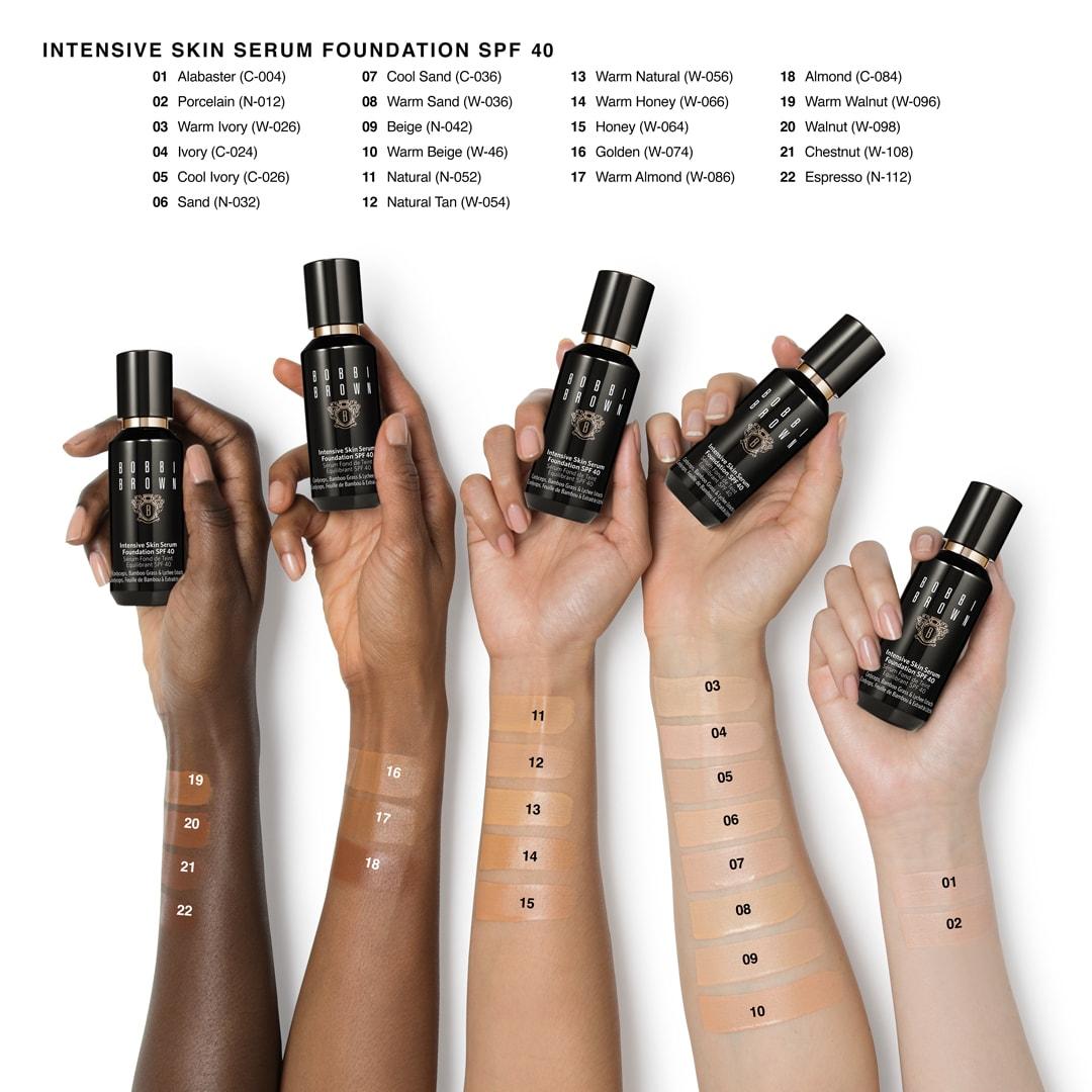 Intensive Skin Serum Foundation Spf 40 35 Bobbi Brown Cosmetics